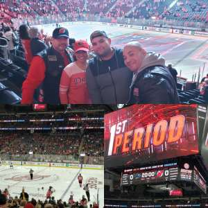 JuanJose attended New Jersey Devils vs. San Jose Sharks on Feb 20th 2020 via VetTix