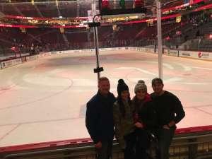 Chris attended New Jersey Devils vs. San Jose Sharks on Feb 20th 2020 via VetTix