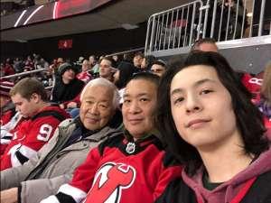David attended New Jersey Devils vs. San Jose Sharks on Feb 20th 2020 via VetTix