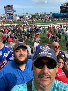 Daniel attended Daytona 500 - KB100 Kurt Busch Fan Appreciation Tickets - NASCAR Monster Energy Series on Feb 16th 2020 via VetTix