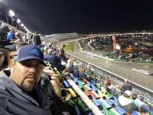 Greg attended Daytona 500 - KB100 Kurt Busch Fan Appreciation Tickets - NASCAR Monster Energy Series on Feb 16th 2020 via VetTix