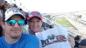 Jason attended Daytona 500 - KB100 Kurt Busch Fan Appreciation Tickets - NASCAR Monster Energy Series on Feb 16th 2020 via VetTix