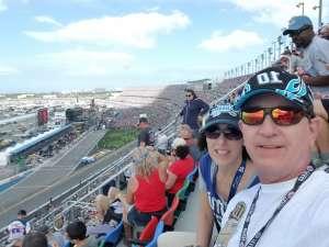 CaseyH attended Daytona 500 - KB100 Kurt Busch Fan Appreciation Tickets - NASCAR Monster Energy Series on Feb 16th 2020 via VetTix