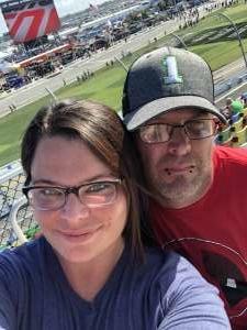 Joseph attended Daytona 500 - KB100 Kurt Busch Fan Appreciation Tickets - NASCAR Monster Energy Series on Feb 16th 2020 via VetTix