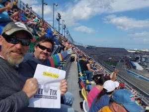 Walter attended Daytona 500 - KB100 Kurt Busch Fan Appreciation Tickets - NASCAR Monster Energy Series on Feb 16th 2020 via VetTix