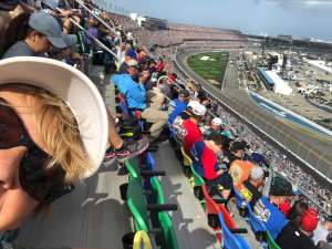 Gary attended Daytona 500 - KB100 Kurt Busch Fan Appreciation Tickets - NASCAR Monster Energy Series on Feb 16th 2020 via VetTix