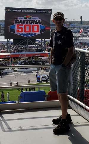 Glen attended Daytona 500 - KB100 Kurt Busch Fan Appreciation Tickets - NASCAR Monster Energy Series on Feb 16th 2020 via VetTix