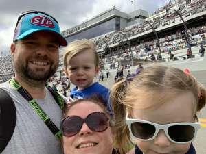 Matthew attended Daytona 500 - KB100 Kurt Busch Fan Appreciation Tickets - NASCAR Monster Energy Series on Feb 16th 2020 via VetTix