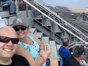 Ben attended Daytona 500 - KB100 Kurt Busch Fan Appreciation Tickets - NASCAR Monster Energy Series on Feb 16th 2020 via VetTix