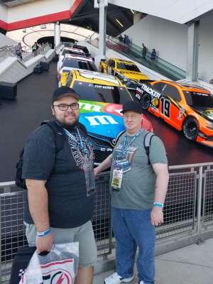 Stephen attended Daytona 500 - KB100 Kurt Busch Fan Appreciation Tickets - NASCAR Monster Energy Series on Feb 16th 2020 via VetTix