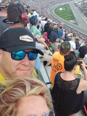 Israel attended Daytona 500 - KB100 Kurt Busch Fan Appreciation Tickets - NASCAR Monster Energy Series on Feb 16th 2020 via VetTix