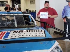 Larry attended Daytona 500 - KB100 Kurt Busch Fan Appreciation Tickets - NASCAR Monster Energy Series on Feb 16th 2020 via VetTix