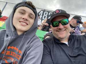 Jeffrey attended Daytona 500 - KB100 Kurt Busch Fan Appreciation Tickets - NASCAR Monster Energy Series on Feb 16th 2020 via VetTix