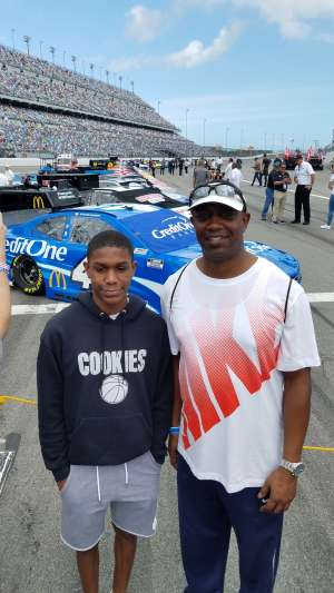 Brian attended Daytona 500 - KB100 Kurt Busch Fan Appreciation Tickets - NASCAR Monster Energy Series on Feb 16th 2020 via VetTix