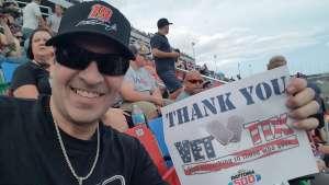 Christian attended Daytona 500 - NASCAR Monster Energy Series on Feb 16th 2020 via VetTix