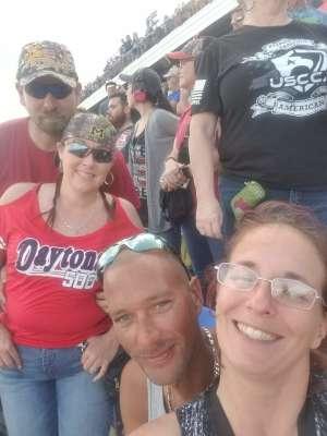 Anita attended Daytona 500 - NASCAR Monster Energy Series on Feb 16th 2020 via VetTix