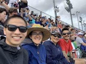 Elizabeth attended Daytona 500 - NASCAR Monster Energy Series on Feb 16th 2020 via VetTix