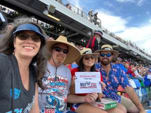 Krystal attended Daytona 500 - NASCAR Monster Energy Series on Feb 16th 2020 via VetTix