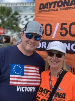 Charles attended Daytona 500 - NASCAR Monster Energy Series on Feb 16th 2020 via VetTix