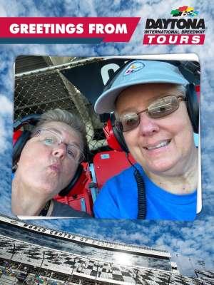 Suzanne attended Daytona 500 - NASCAR Monster Energy Series on Feb 16th 2020 via VetTix