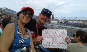 Jim Crovetti attended Daytona 500 - NASCAR Monster Energy Series on Feb 16th 2020 via VetTix