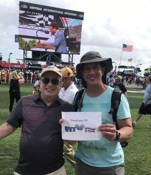 samar attended Daytona 500 - NASCAR Monster Energy Series on Feb 16th 2020 via VetTix
