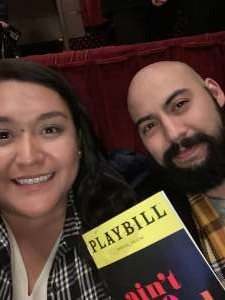 Mercedes attended Ain't Too Proud -the Life and Times of the Temptations on Feb 11th 2020 via VetTix