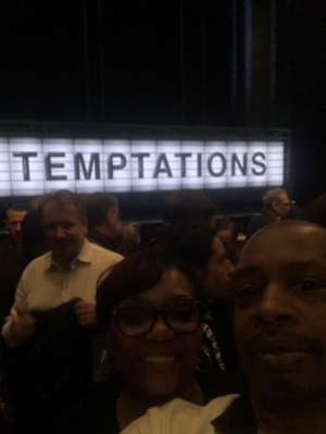 JOSEPH  M attended Ain't Too Proud -the Life and Times of the Temptations on Feb 11th 2020 via VetTix