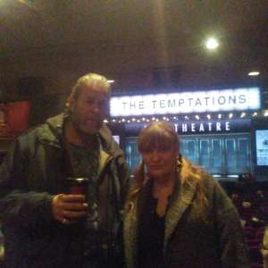 Vincent attended Ain't Too Proud -the Life and Times of the Temptations on Feb 11th 2020 via VetTix