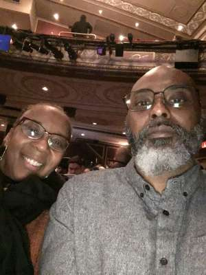 Kevin attended Ain't Too Proud -the Life and Times of the Temptations on Feb 11th 2020 via VetTix