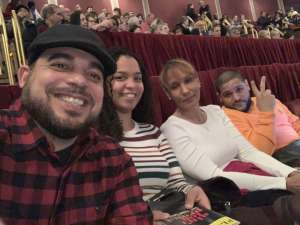 Luis attended Ain't Too Proud -the Life and Times of the Temptations on Feb 11th 2020 via VetTix