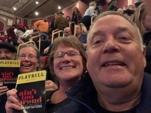 Peter attended Ain't Too Proud -the Life and Times of the Temptations on Feb 11th 2020 via VetTix