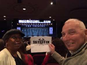 Jerry attended Ain't Too Proud -the Life and Times of the Temptations on Feb 11th 2020 via VetTix