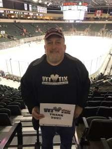 David attended Texas Stars vs San Antonio Rampage - AHL on Feb 15th 2020 via VetTix
