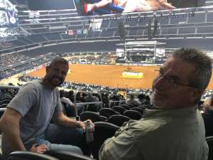 Eric attended Winstar World Casino and Resort PBR Global Cup USA Presented by Monster Energy on Feb 16th 2020 via VetTix