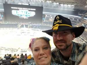 Brandon attended Winstar World Casino and Resort PBR Global Cup USA Presented by Monster Energy on Feb 16th 2020 via VetTix
