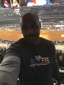 KENNARD attended Winstar World Casino and Resort PBR Global Cup USA Presented by Monster Energy on Feb 16th 2020 via VetTix