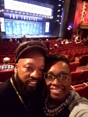 Robert Walker, Jr. attended Ain't Too Proud - The Life and Times of The Temptations on Feb 13th 2020 via VetTix