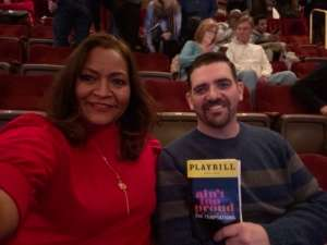 Matthew attended Ain't Too Proud - The Life and Times of The Temptations on Feb 13th 2020 via VetTix