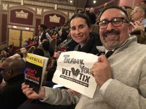 Marc attended Ain't Too Proud - The Life and Times of The Temptations on Feb 13th 2020 via VetTix