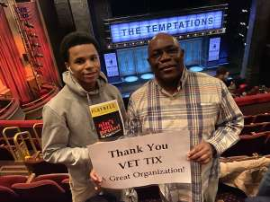 Samuel attended Ain't Too Proud - The Life and Times of The Temptations on Feb 13th 2020 via VetTix