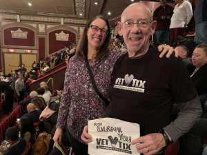 James attended Ain't Too Proud - The Life and Times of The Temptations on Feb 13th 2020 via VetTix
