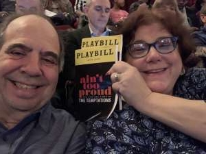 Edward attended Ain't Too Proud - The Life and Times of The Temptations on Feb 13th 2020 via VetTix