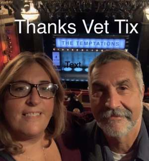 Patrick attended Ain't Too Proud - The Life and Times of The Temptations on Feb 13th 2020 via VetTix