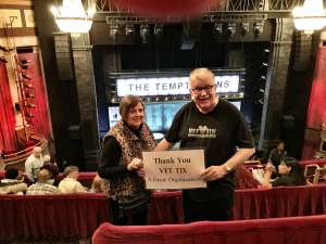Thomas attended Ain't Too Proud - The Life and Times of The Temptations on Feb 13th 2020 via VetTix