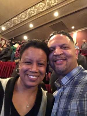 TEE attended Ain't Too Proud - The Life and Times of The Temptations on Feb 13th 2020 via VetTix