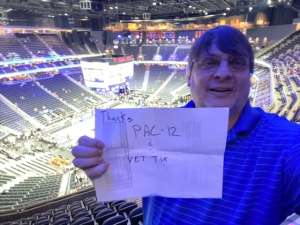 Daconia attended Pac-12 Men's Basketball Tournament - Session 1 on Mar 11th 2020 via VetTix