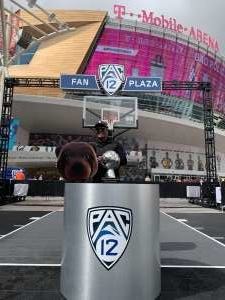 Dimithius  attended Pac-12 Men's Basketball Tournament - Session 1 on Mar 11th 2020 via VetTix