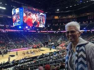 Diane attended Pac-12 Men's Basketball Tournament - Session 1 on Mar 11th 2020 via VetTix