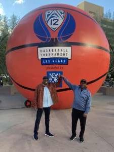 CJ CROSBY attended Pac-12 Men's Basketball Tournament - Session 1 on Mar 11th 2020 via VetTix
